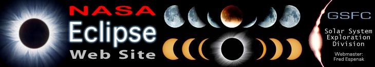 NASA Eclipse Web Site, the eclipse schedule for 2014. In 2014 there will be two solar eclipses and two lunar eclipses.