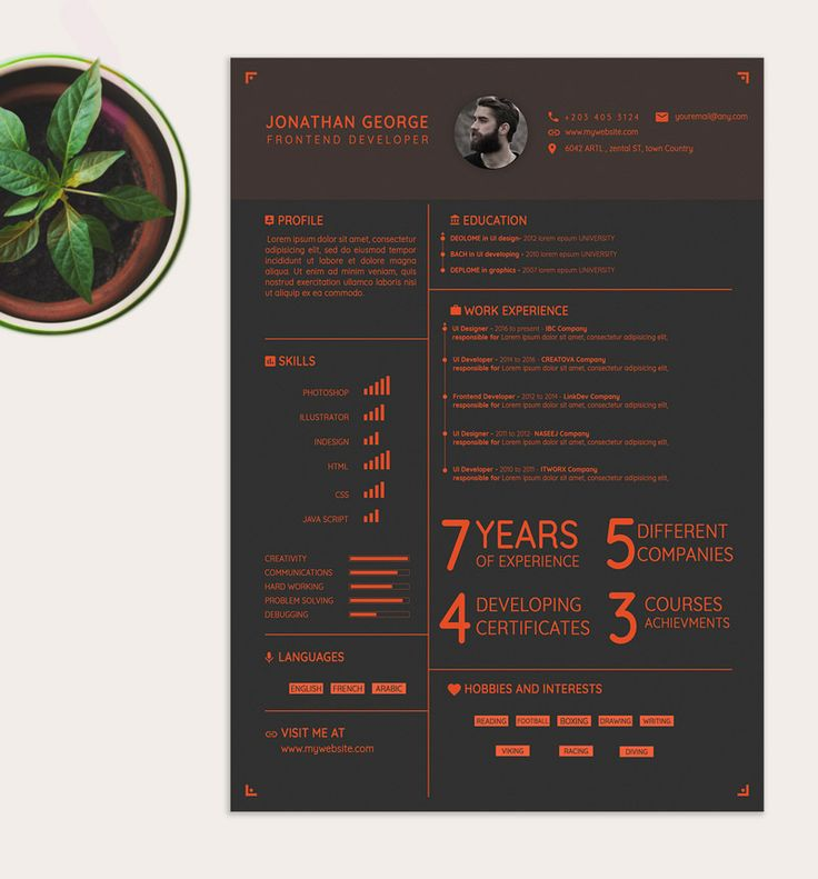 30 Beautifully Designed Resume Examples For Your