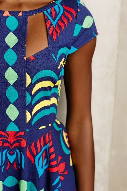La Paz Cutout Dress - anthropologie.com