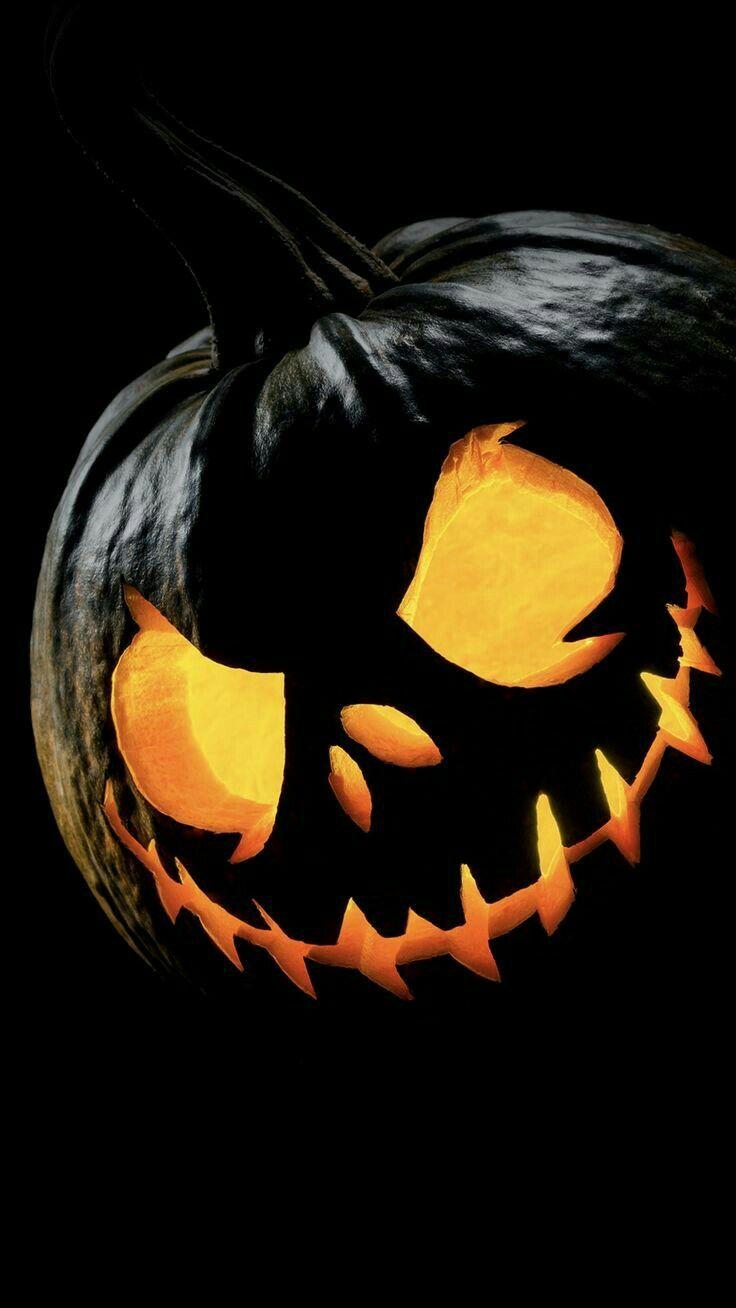 Halloween 2020 Anything After Credits Black Pumpkin in 2020 | Halloween wallpaper, Halloween wallpaper