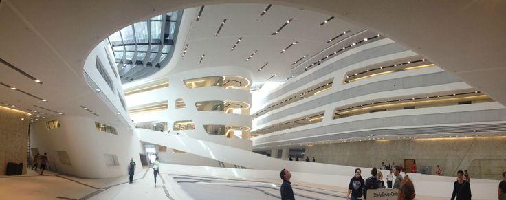 Resultado de imagen de Library and Learning Centre University of Economics Vienna (Austria)