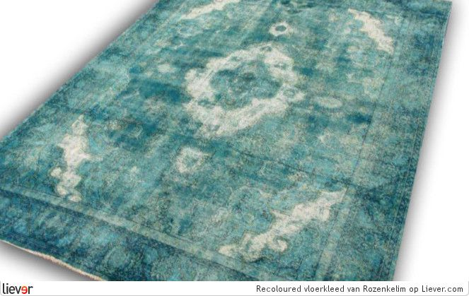 Rozenkelim Recoloured vloerkleed - Rozenkelim karpetten - foto's