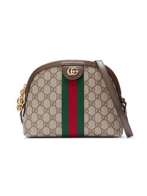 GUCCI Ophidia GG shoulder bag.  gucci  bags  canvas  nylon  leather  lining   shoulder bags  silk   f8b2e85091b