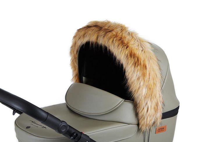 Tolles Winter Zubehör für Anex Kinderwagen! Winterfell, Fußsack, warme Handschuhe/ Handmuff und und