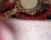 Mirror Pendant Chain Necklace