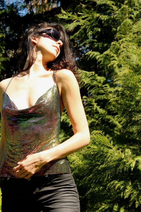 Sparkly Backless Rainbow Glitter Shimmer Mermaid by TheMiriad