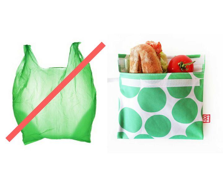 New photo on our Facebook page: Ne dobjunk el nap mint nap egy nejlonzacskót használjunk inkább tartós alternatívát a napi szendvicsünkhöz akár évekig! #kivibag #lunchbags #zipperbags #sandwichbags