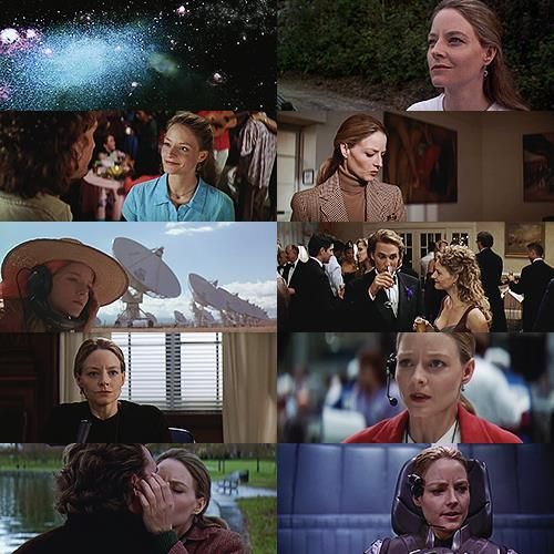 Jodie Foster montage of her in Contact. Great movie!