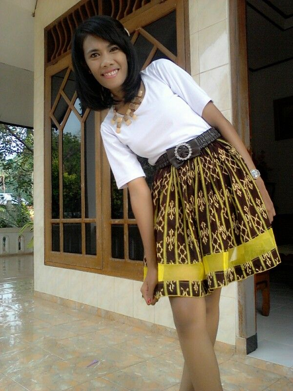 Tenun NTT skirt