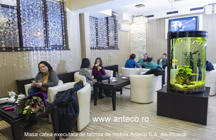 Mobilierul din lemn masiv produs de fabrica Anteco S.A. din Ploiesti se adreseaza segmentului HPRECA si in special cafenelelor cu mesele din lemn masiv rezistente pe care le fabrica