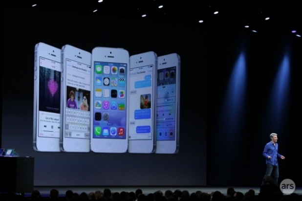 """New Features Have People Buzzing About Apple's iOS7      The next big thing from Apple was recently unveiled at the company's World Wide Developers Conference (WWDC).    CEO Tim Cook gave everyone the lowdown on Apple's newest version of its operating system, iOS7, what Cook calls """"the biggest change to iOS since the introduction of the iPhone."""""""
