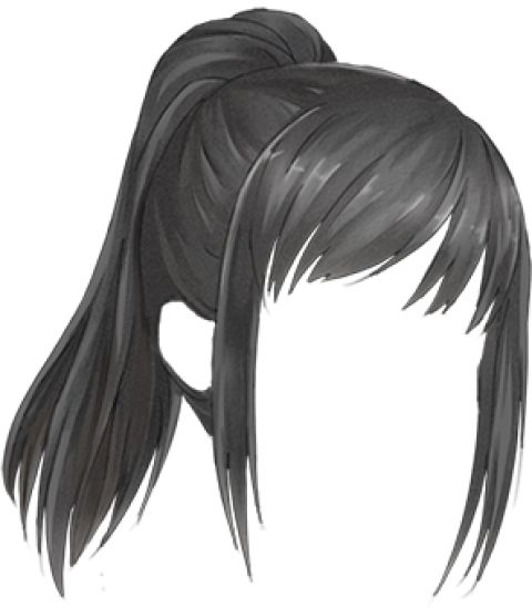 how to draw white hair