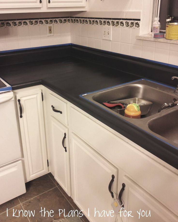 Best 25 Painting Formica Countertops Ideas On Pinterest Diy. Before How To  ...