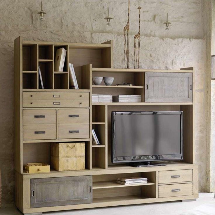 48 best meuble de salon images on pinterest cabinet for Meubles delmas