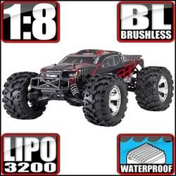 EARTHQUAKE 8E 1/8 SCALE BRUSHLESS ELECTRIC MONSTER TRUCK - OMGRC online Hobby shop
