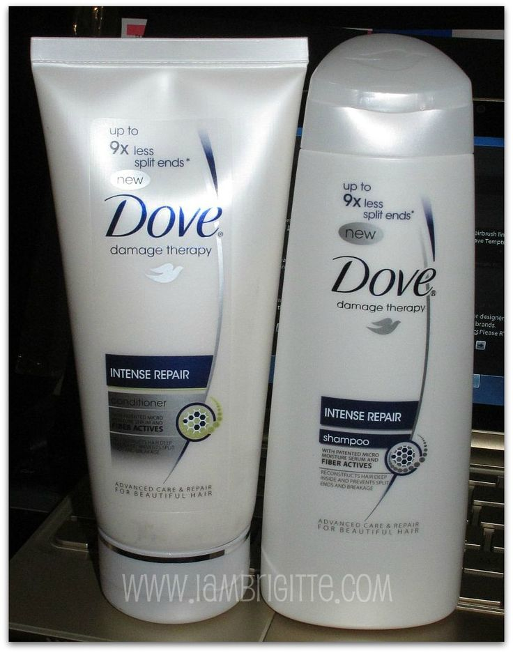 Dove Shampoo and Conditioner...this stuff is truly amazing.