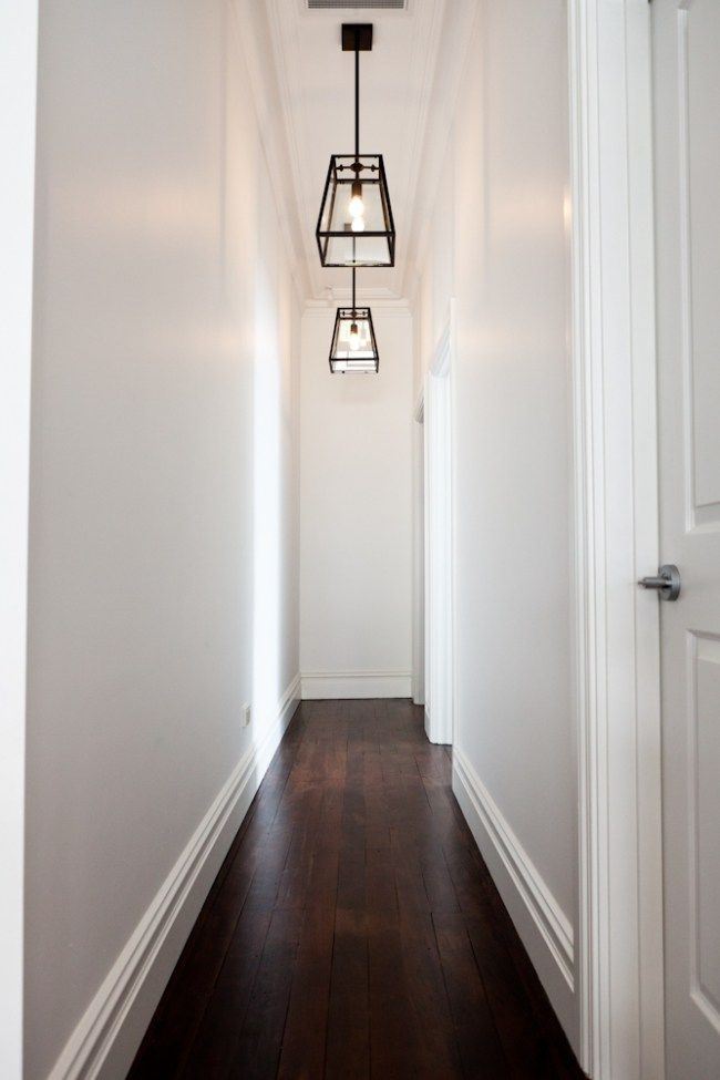 How to make a dark hallway or staircase feel brighter with paint colour by Home Nerd