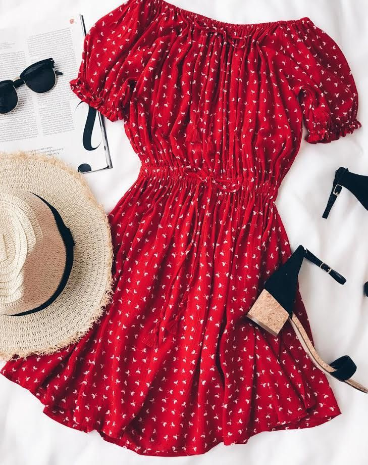 Best 25  Red summer dresses ideas on Pinterest | Long summer ...