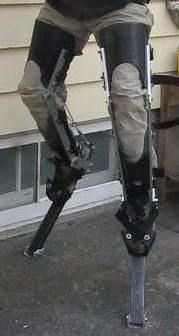 Tutorial to make a nice pair of digitigrade stilts. It looks pretty neat, I'll have to make them.