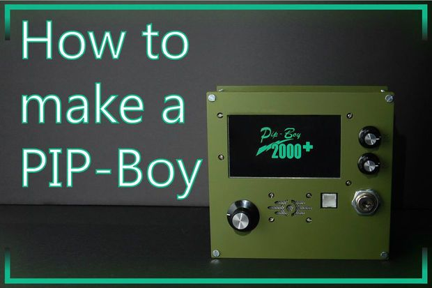 Picture of How to Make a PIP-Boy (Prototype)