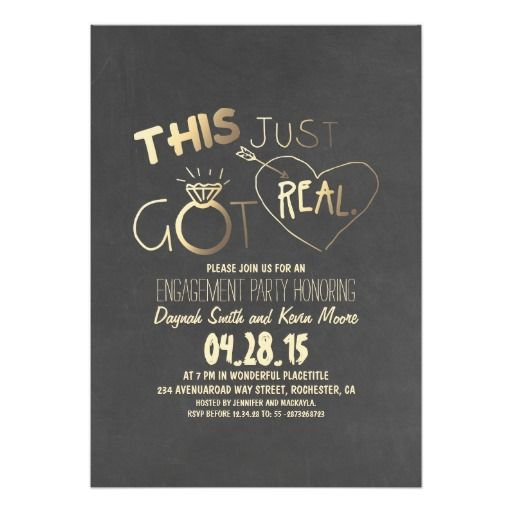 best 25+ engagement party invitations ideas on pinterest, Party invitations