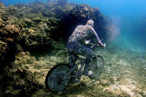Underwater Art in Grenada   Подводное искусство. Скульптуры ...