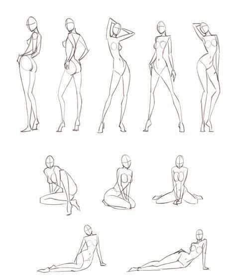How to draw feminine body figures and anatomy                                                                                                                                                                                 More
