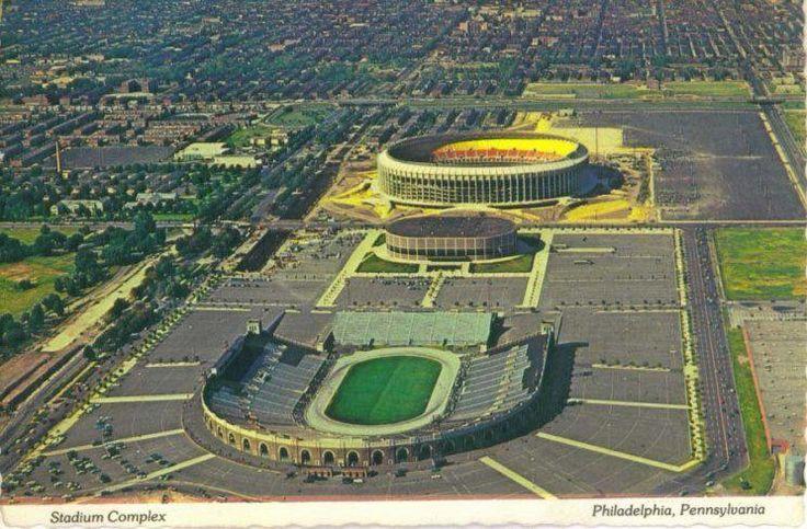 JFK, Vet's Stadium, and The Spectrum Baseball park