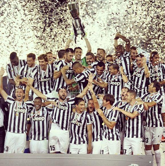 Juventus  Supercoppa champions