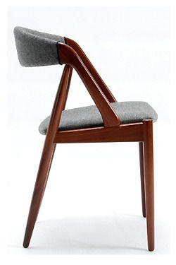 "xewana: "" Dining chair by Kai Kristiansen, 1960's. """