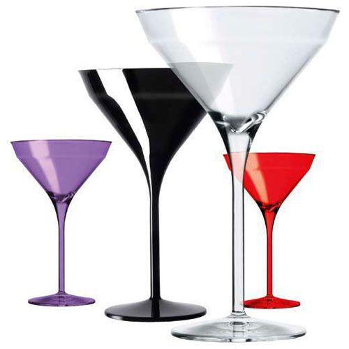 Verre à martini en polycristal incassable by italesse en vente chez INEXTOO Labège et Toulouse