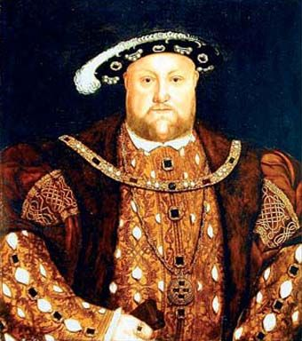 In his youth, king Henry was very athletic and intelligent. He was very religious and spoke good Latin, French and Spanish. He was also fond of hunting and tennis.