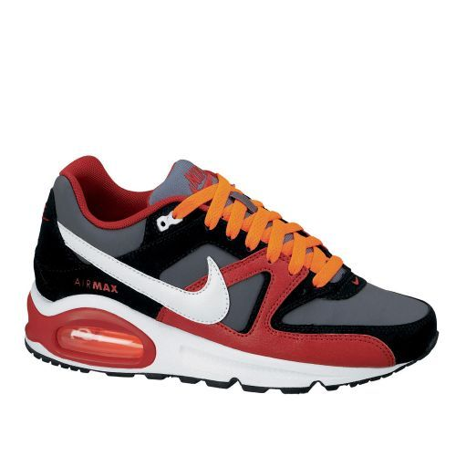 NIKE AIR MAX COMMAND (GS) black/red Nike Air Max Command sneaker voor heren.