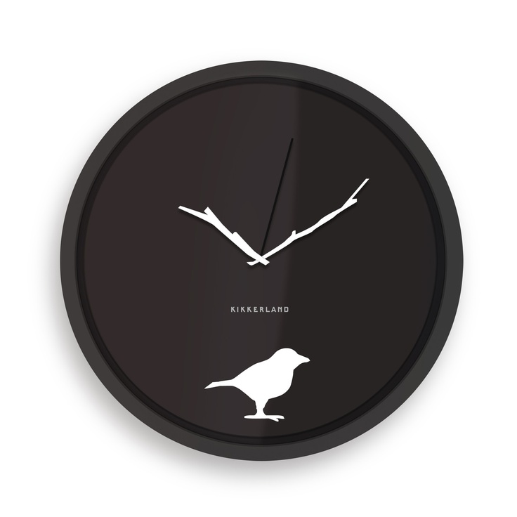 Minimalistic and only $5 :]: Early Birds, Ears Birds, Birds Clocks, Kitchens Wall, Cool Clocks, Birds Watches, House And Home, Wall Clocks, Home Gifts