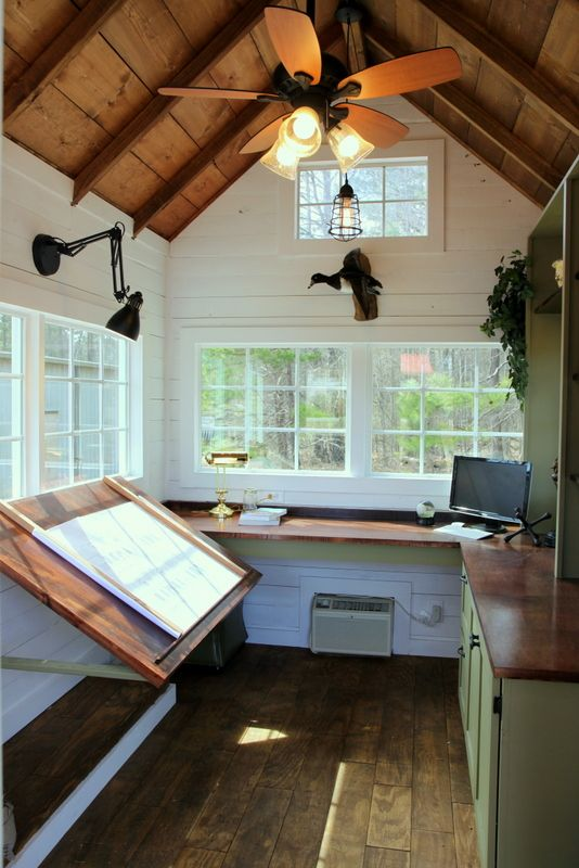 Office - Studio - Back Yard Escape The tiny office is designed to be a  multifunctional accessory space. It can be a mobile construct… - Office - Studio - Back Yard Escape The Tiny Office Is Designed To Be
