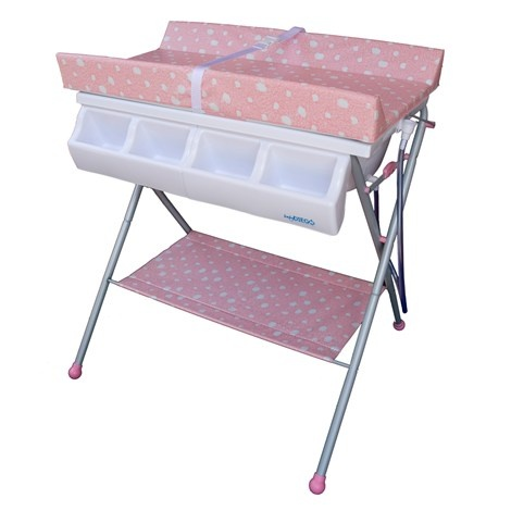 Baby Diego Standard Bath Tub U0026 Changer Combo In Pink   ShopStyle Changing  Tables