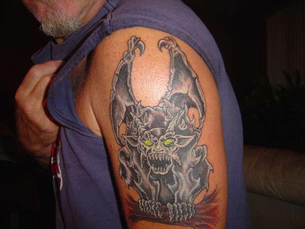 1000 ideas about gargoyle tattoo on pinterest demon