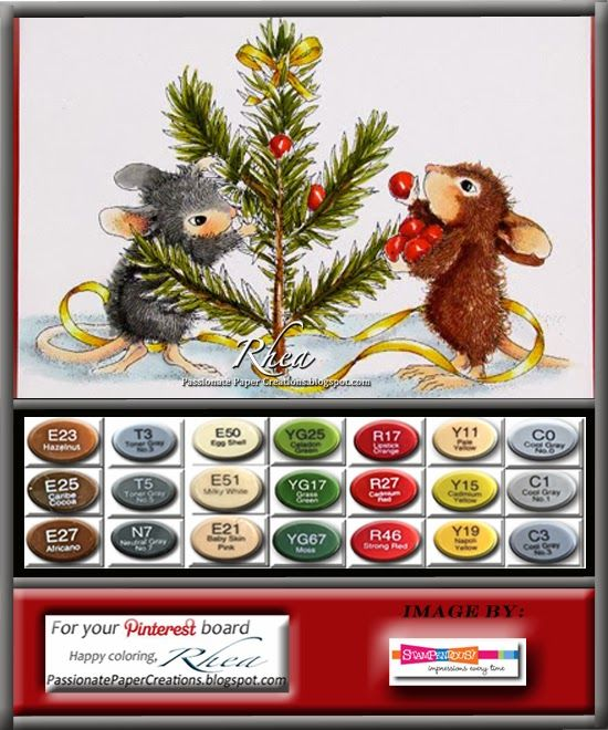 Passionate Paper Creations: Color Palettes for Deck The Halls and Trim The Tree.....opppssss I forgot.