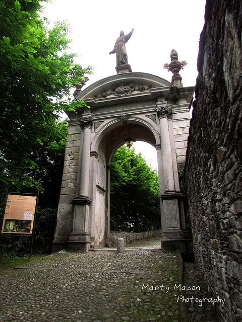 Italy 2012 Sacro Monte of Orta entry by Martys Fiber Musings, via Flickr