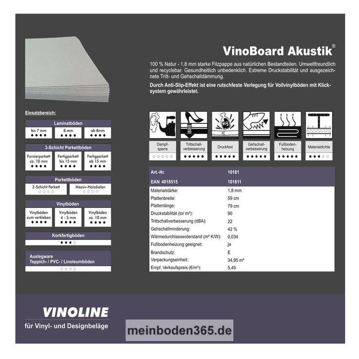 zu 100 natur die vinoboard akustik 18 mm starke filzpappe aus nartrlichen - Beste Wohnzimmerzubehor