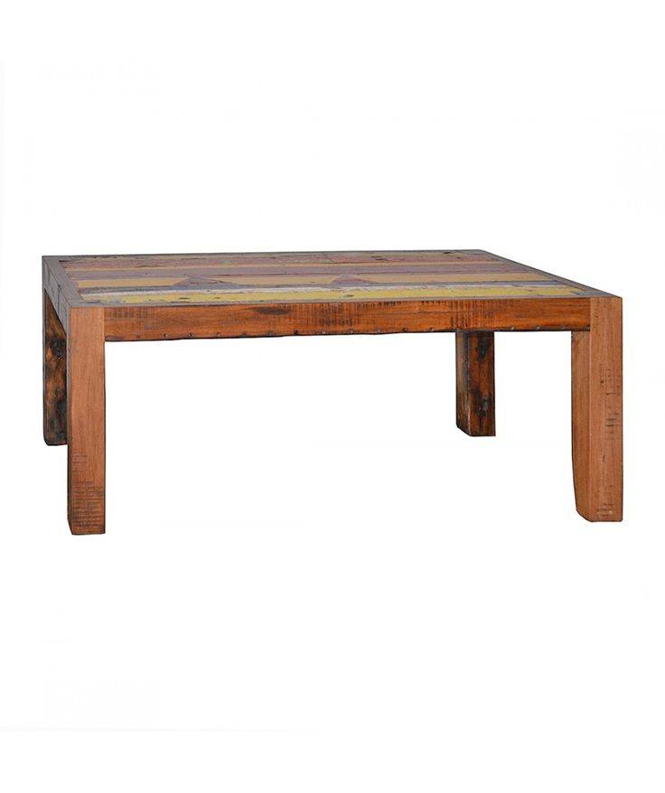Salvage - Boatwood Dining Table With Wide Legs | Home Office Furniture