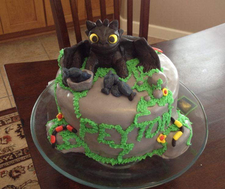 Toothless Birthday Cake Party Ideas Pinterest