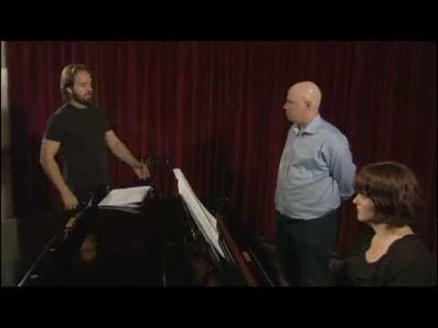 les miz 25th, alfie teaches matt lucas to sing {part 1}