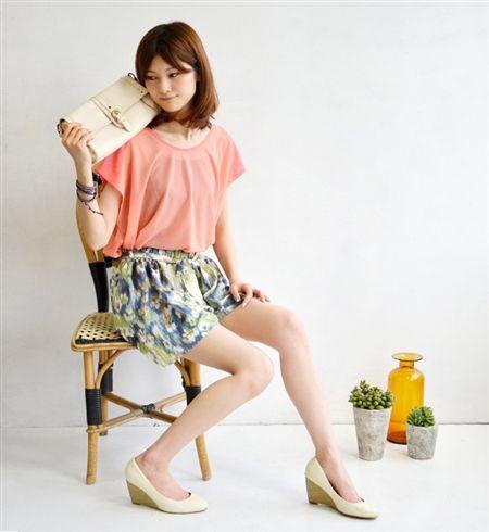 春〜夏に着たいのは花柄キュロット♡人気・おすすめ・トレンドのキュロットのモテコーデ一覧♪