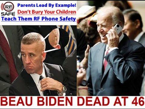 Did Cell Phone Radiation Cause Brain Tumor Of VP Joe Biden's Son Beau Biden? – RF (Radio Frequency) Safe
