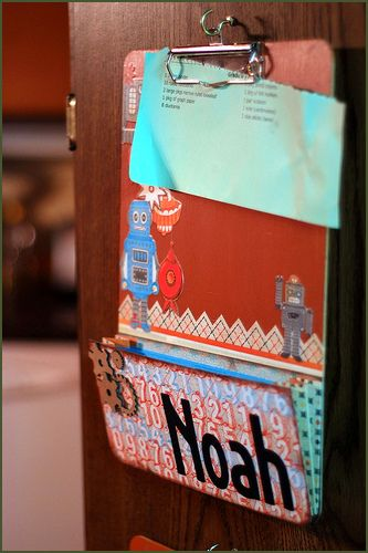 An organizer clipboard? What a super idea. The pocket at bottom is pure genius!