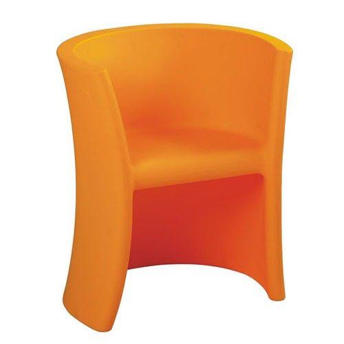 Junior Tub Chair - Orange - Milan Direct