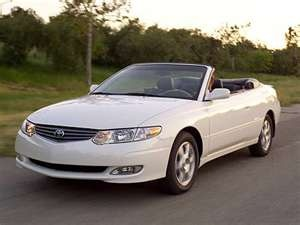 white toyota convertible solara...Rich and I have a new summer ride. http://windblox.com #windscreen