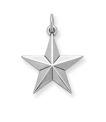 Beveled Star Charm: James Avery