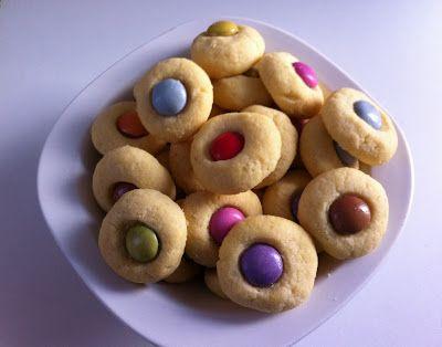 Julias Bunte Torten: Smarties Kekse
